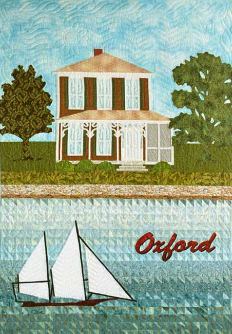 Maryland Postcard Quilt
