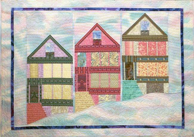 San Francisco Postcard Quilt
